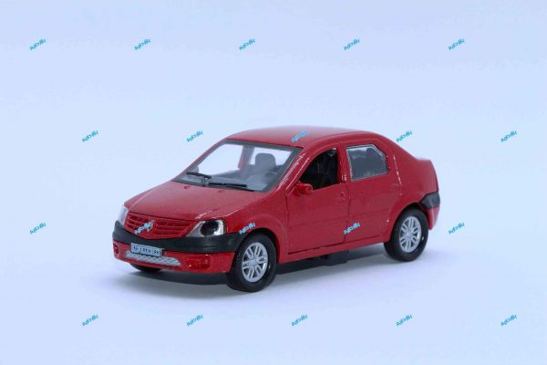 ماشین فلزی رنو L90 قرمز متالیک