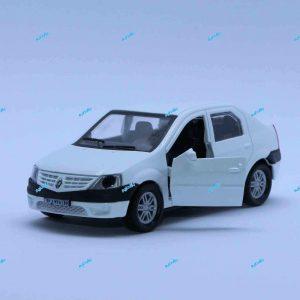 ماشین فلزی رنو L90 سفید