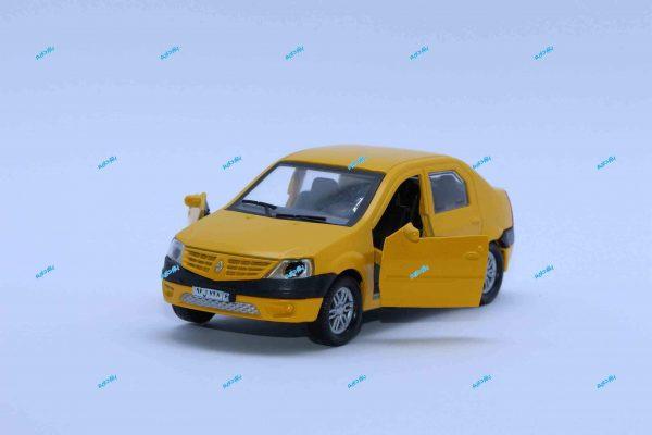 ماشین فلزی رنو L90 زرد