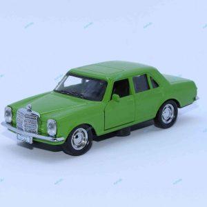 ماشین فلزی بنز کلاسیک سبز