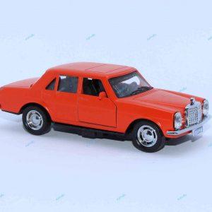 ماشین فلزی بنز کلاسیک نارنجی