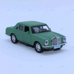 ماشین فلزی بنز کلاسیک سبز زیتونی