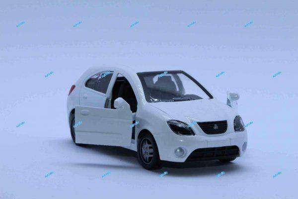 ماشین فلزی تیبا2 سفید