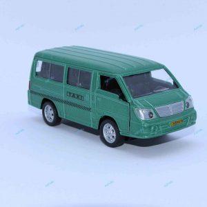 ماشین فلزی ون تاکسی سبز متالیک