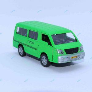 ماشین فلزی ون تاکسی سبز فسفری
