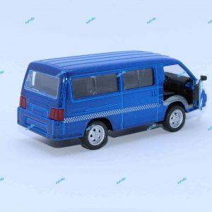 ماشین فلزی ون آبی متالیک