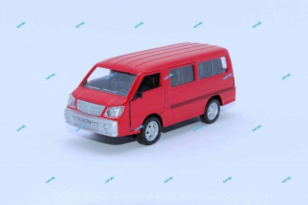 ماشین فلزی ون قرمز