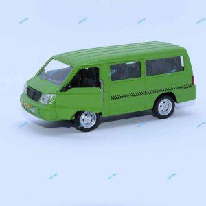 ماشین فلزی ون تاکسی سبز پسته ای