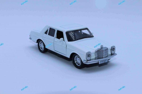 ماشین فلزی بنز کلاسیک سفید