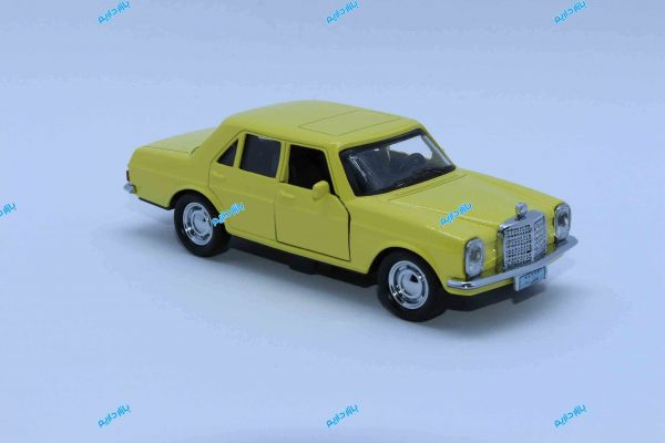ماشین فلزی بنز کلاسیک زرد