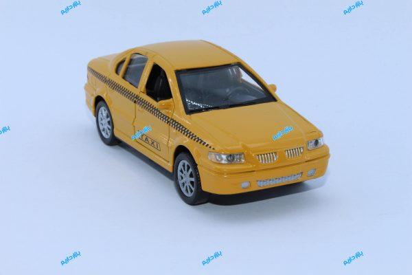 ماکت ماشین فلزی سمند تاکسی