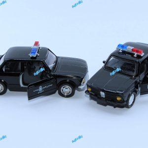ماکت ماشین فلزی بی ام و پلیس 2002 BMW