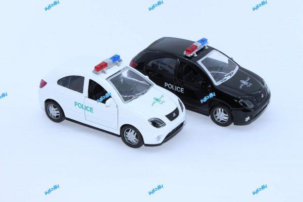 ماکت ماشین فلزی تیبا2 هاچ بک پلیس